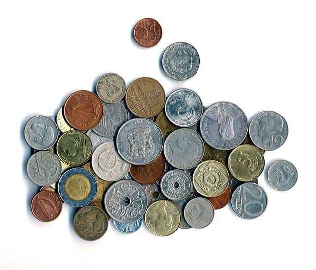 Mønter købes